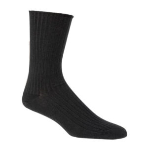 sokken gots zwart per 5 stuk