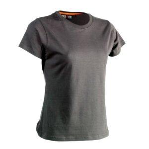 herock epona dames t shirt korte mouwen essentials (0901) grijs