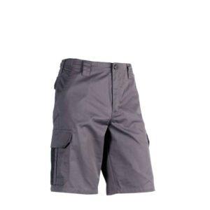 herock tyrus korte werkbroek essentials (0901) grijs