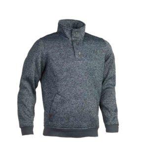 herock verus poly fleece sweater met (1701) blauw