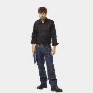 herock kronos jeans werkbroek expert 0902 blauw b