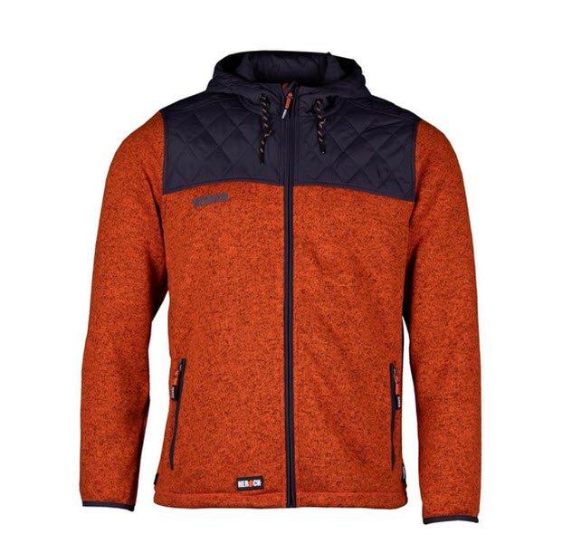 herock limited bores fleece jack expert (1906) oranje
