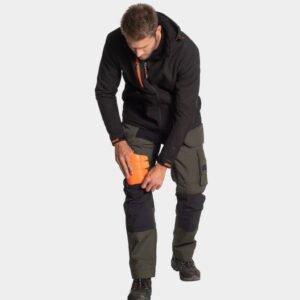 herock kniebeschermers oranje