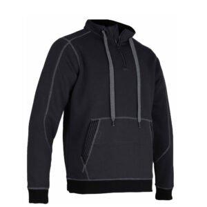 lma coffre hoodie vest zwart grijs (8049)