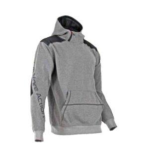 lma hoodie sweater cyber grijs zwart (8079)
